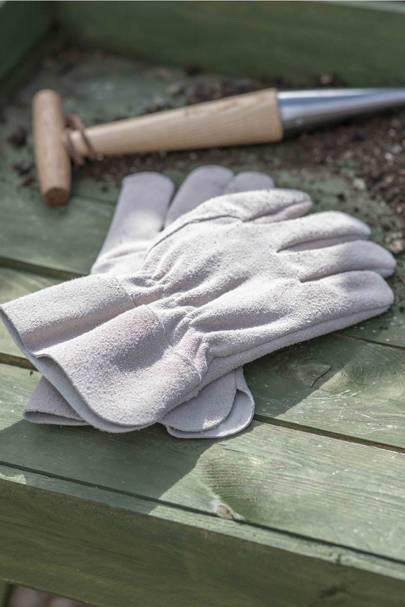 The gardening gloves