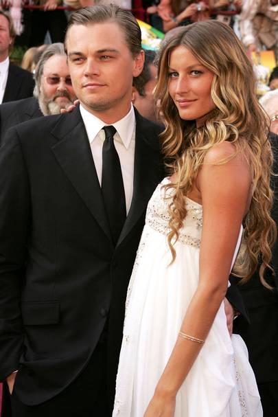 Gisele Bundchen and Leonardo Di Caprio