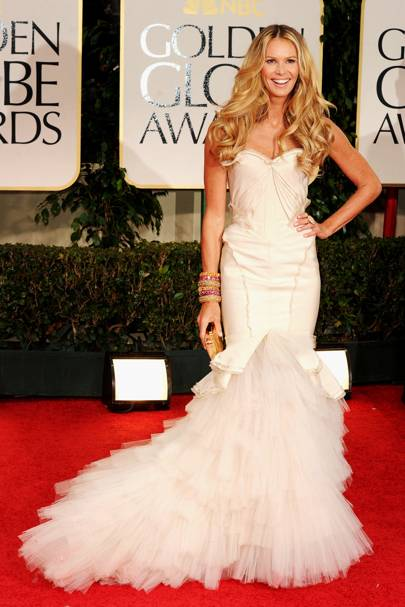 Elle Macpherson at the Golden Globes 2012