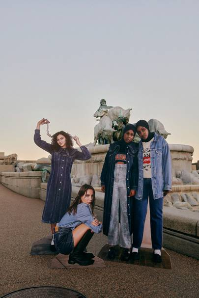 GANNI and Levi's have teamed up to create the most epic sustainable denim collection - and you're going to want every piece