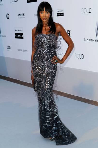 0b34a2324008 No 9: Naomi Campbell Her Style: Naomi was discovered while shopping in the  80s, and soon rocketed to the top as a member of the original super model  elite.