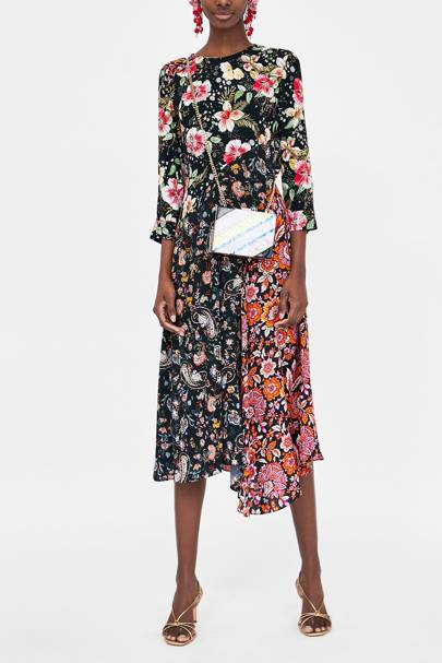 95669f5b909e Zara Floral Midi Dress: Will This Be The Most Popular Dress Of The ...