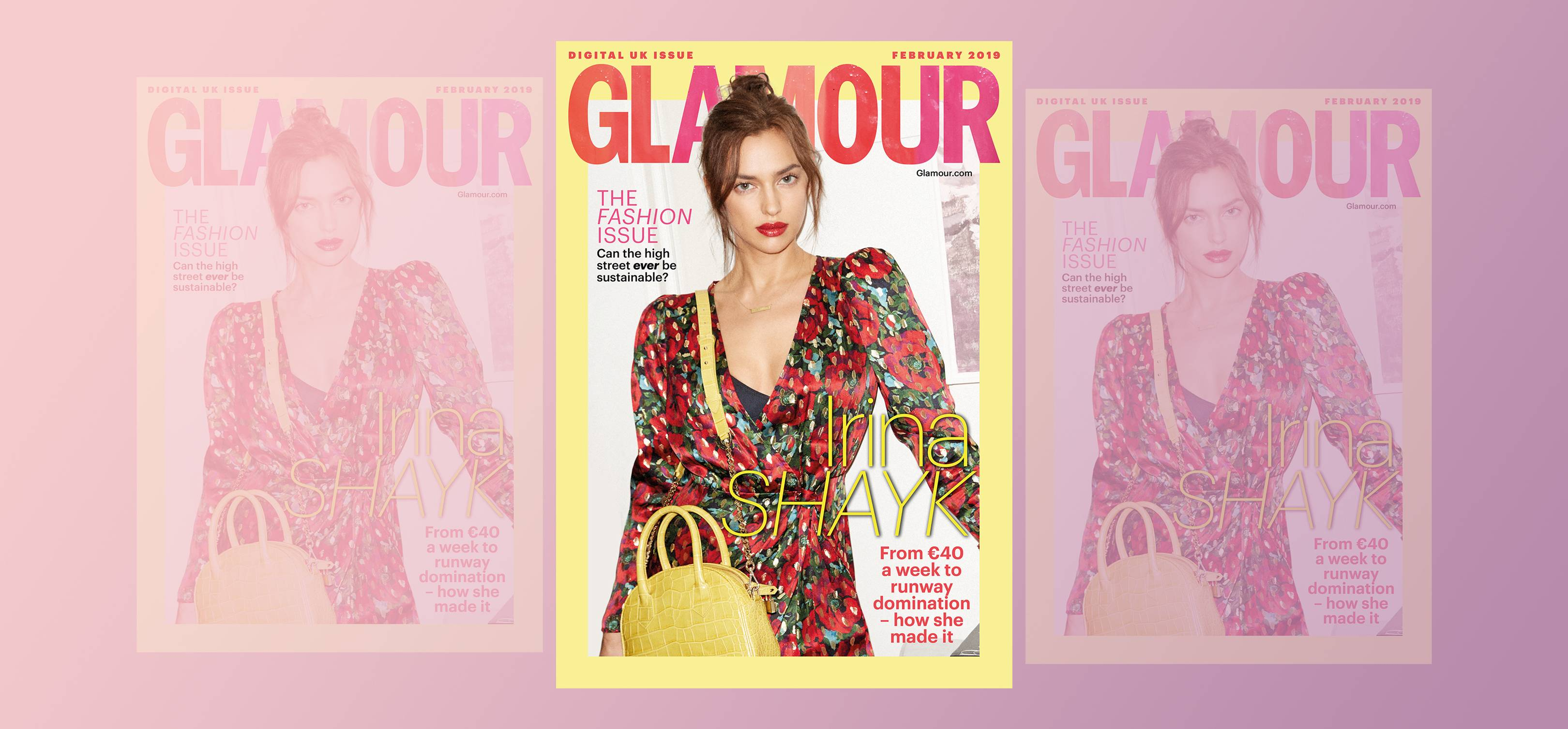 c4cc2f5ab From €40 a week to runway domination: Meet GLAMOUR's February digital cover  star, Irina Shayk