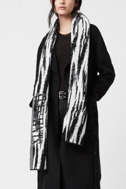 Best patterned scarf