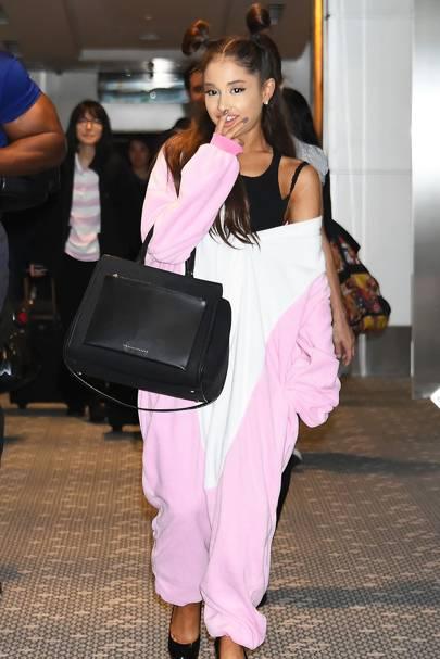 Ariana Grande Fashion Style Glamour Uk