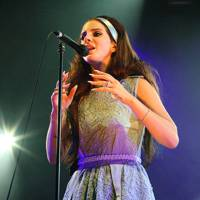Lana Del Rey performs at Spin Off Festival
