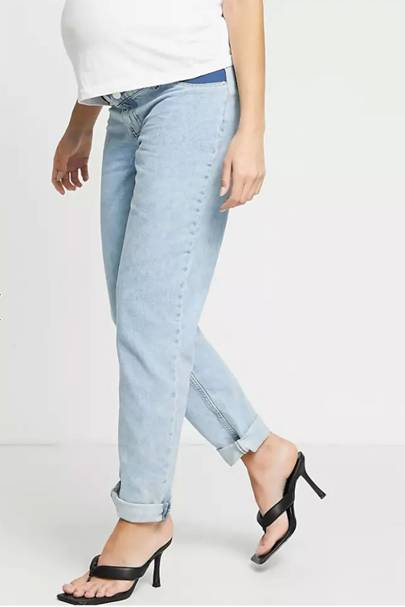 Best Maternity Jeans - Side Waistband