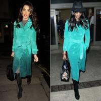 Turquoise coat: Amal or Naomi?