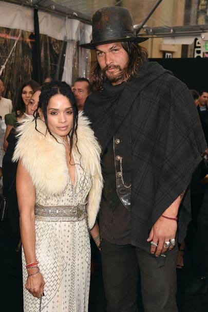 Jason Momoa and Lisa Monet