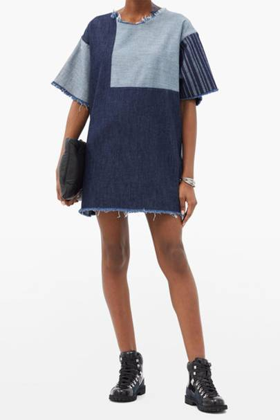 Best Denim Dresses - Upcycled Denim
