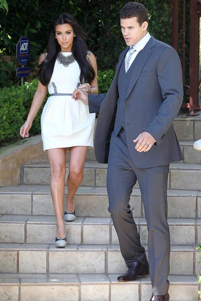 No 23: Kim Kardashian & Kris Humphries