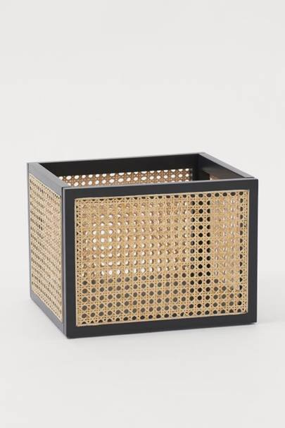 Best storage solutions: the rattan basket
