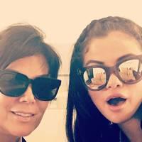 Kris Jenner & Selena Gomez