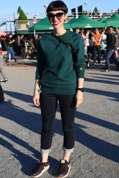 Maria, Fashion Designer, Primavera Festival