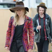 Sienna Miller and Tom Sturridge at Glastonbury