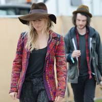 Sienna Miller and Tom Sturridge at Glastonbury