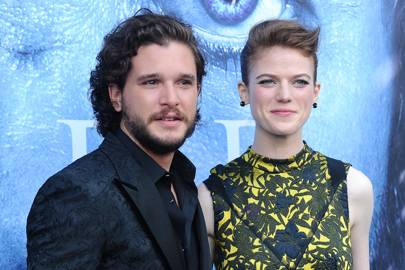 Kit Harington And Rose Leslie Engagement Announcement And Pictures