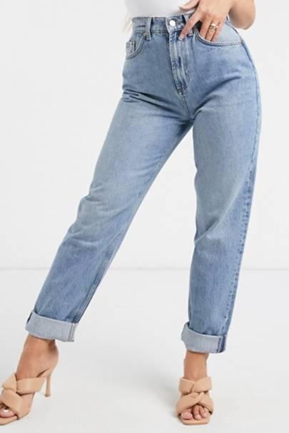 Best light blue mom jeans