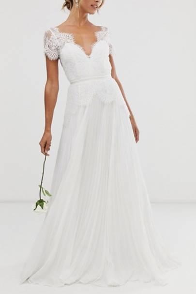Best ASOS wedding dress for a country garden wedding