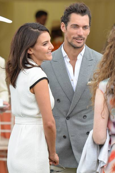 Who is david gandy currently dating