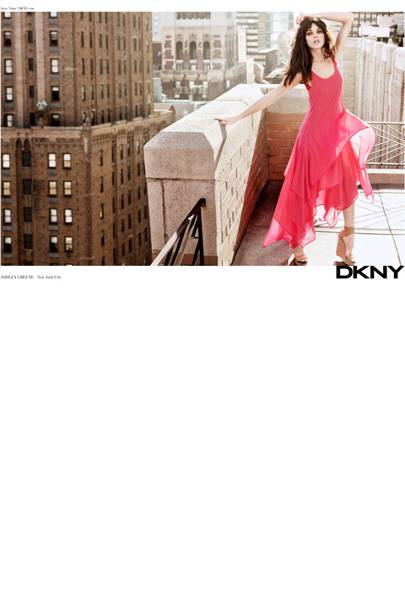 Ashley Greene For DKNY