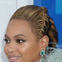 Beyonce's red carpet updo