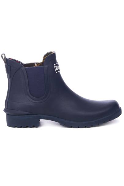 BARBOUR: Navy Ankle Boots