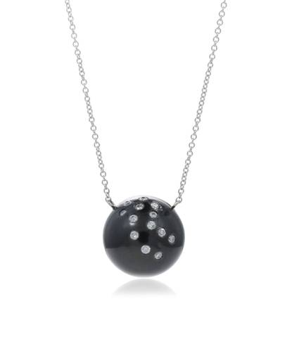 Tahitian pearl necklace by Del Pozzo Jewelry