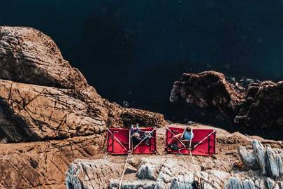 Go cliff camping