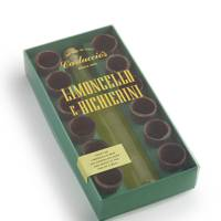 Limoncello With Chocolate Cups