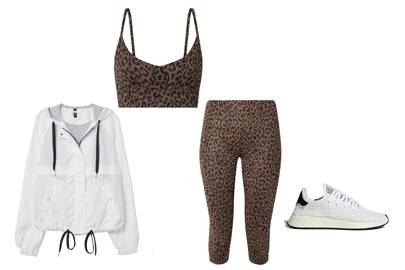 LEOPARD PRINT AT THE GYM
