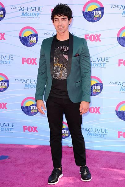 Joe Jonas at the Teen Choice Awards 2012