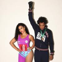 Beyoncé and Jay-Z as Olympians