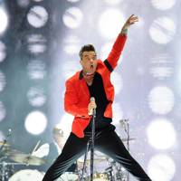 Robbie Williams at the Capital FM Summertime Ball