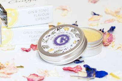 Gin gift sets: the gin flavoured lip balm