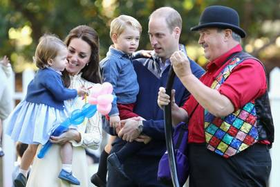 Princess Charlotte said her first word in public