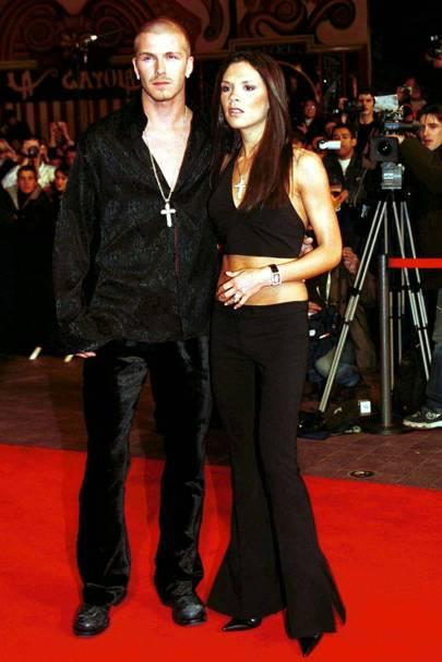 David and Victoria Beckham weren't stylish
