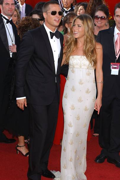 No 13: Brad Pitt and Jennifer Aniston