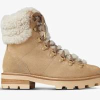 Best walking boots for women: Jimmy Choo