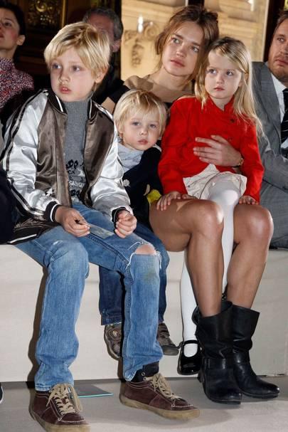 Lucas, Neva and Viktor Portman