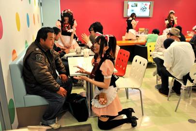 The Japanese Maid Cafe
