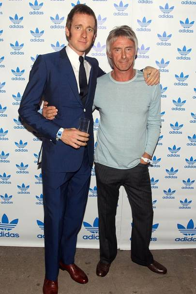 Bradley Wiggins & Paul Weller