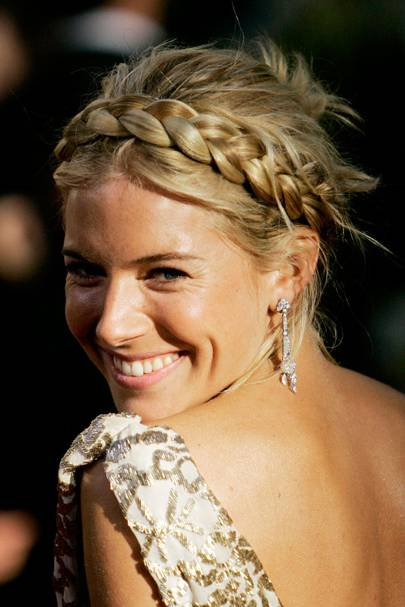 achieve this heidi inspired halo style modelled by sienna back in 07 by investing in a faux hair braid that perfectly matches your natural colouring
