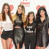 The Kardashians at the iHeartRadio Music Festival