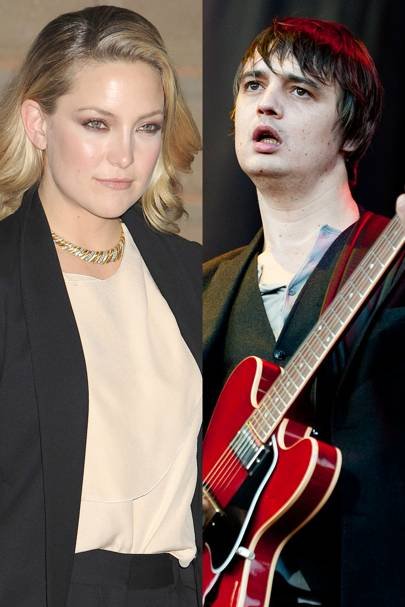 Kate Hudson and Pete Doherty