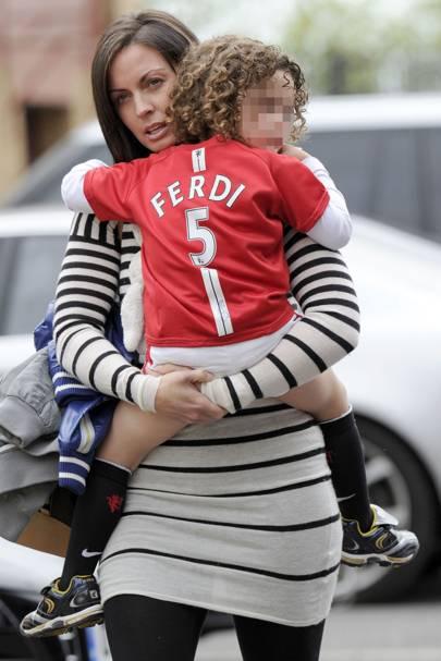 Rio Ferdinand & Rebecca Ellison