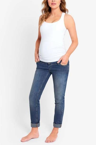 Best Maternity Jeans - Boyfriend Cut