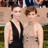 Kate and Rooney Mara