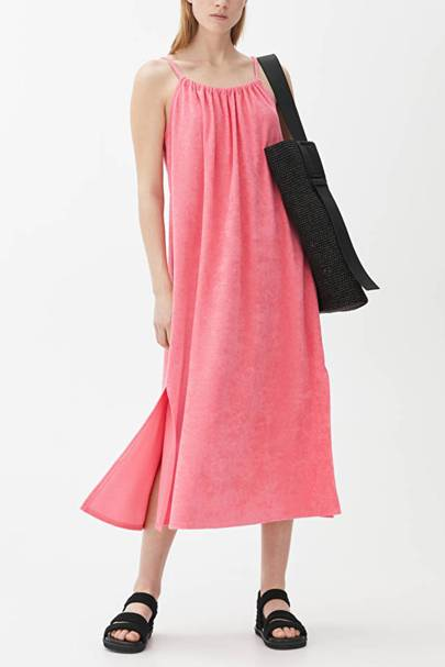 Towelling summer dresses