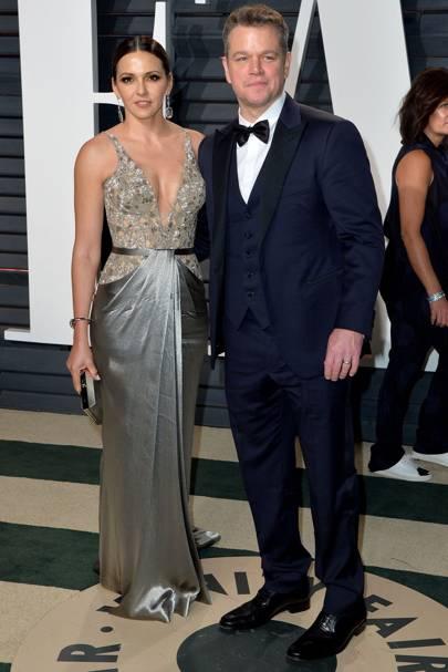 Matt Damon & Luciana Barroso